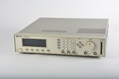 HP Agilent 8110A Pulse Pattern Generator 150 MHz With 1x 81103A