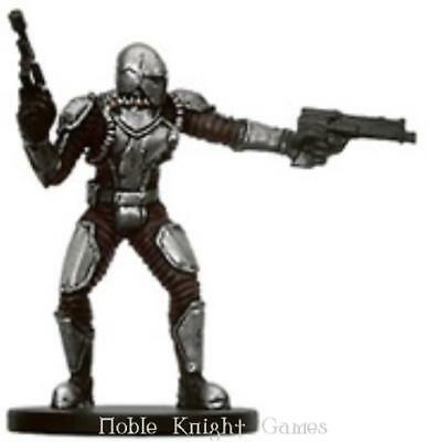 WOTC Star Wars Minis Bounty Hunter Mandalorian Commander NM