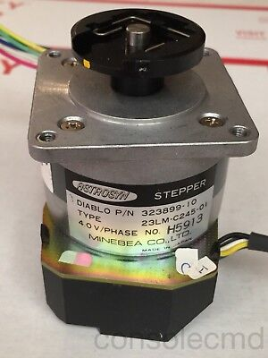 LOT 2 Minebea Astrosyn NEMA23 Stepper Stepping Motor, optical positional encoder