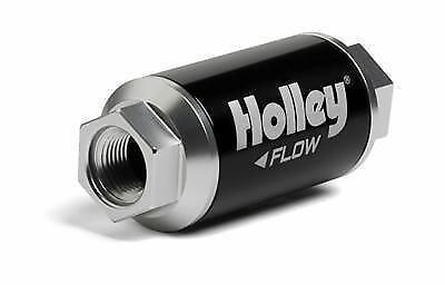 Holley 162-562 Billet Fuel Filter Race Drag 100 Gph 40 Micron 3/8 Npt In/out