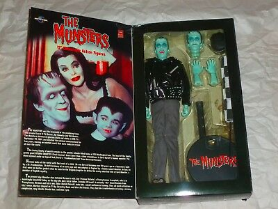 """THE MUNSTERS - Racer Herman 12"""" Figure - TOWER RECORDS Majestic Studios DETAILED"""