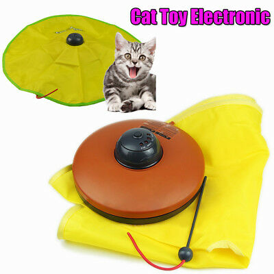 Electronic Cat Toy Fabric Cat's Meow Undercover Fabric Moving Mouse Fun Play AUS