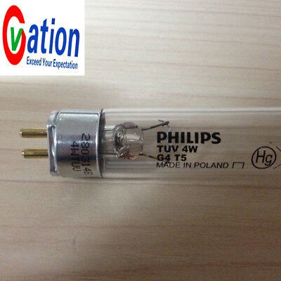 Philips TUV 4W G4 T5 Bulb Lamp Tube Short Wave Germicidal Ultra Violet UV Filter x 1pcs
