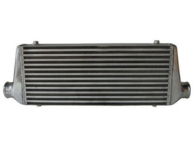 Cooling-Pro Bar & Plate Intercooler - 600 x 250 x 76mm 2.5 Outlets