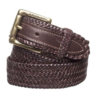 RMW Plaited Buckle Belt - RRP 249.99 - FREE POST