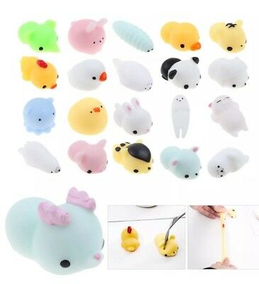 Squishy Slow Rising Fidget Kaesong Cur Animal Carton Hand Toy 16pc Value Pack