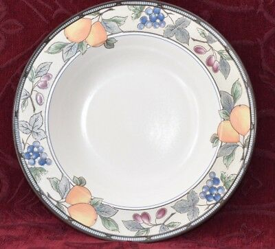 Garden Harvest by Mikasa - Rimmed Soup/Pasta Bowl 23.5cms #CAC29 - Intaglio