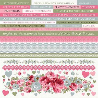 "High Tea Cardstock Stickers 12""X12""   883416133360"