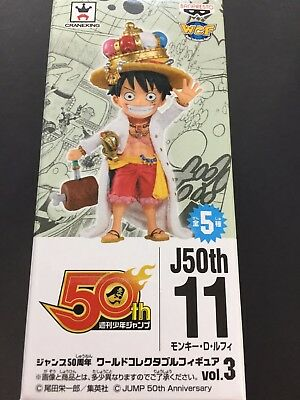 Jump 50th Anniversary World Collectable Figure WCF One Piece Luffy Vol.3 11