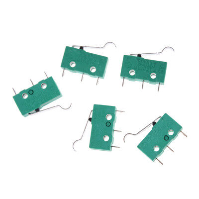 5pcs KW4-3Z-3 SPDT NO NC Momentary Hinge Lever Limit Switch Microswitch PT*