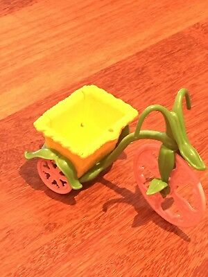 Vintage Strawberry Shortcake Toy Bicycle