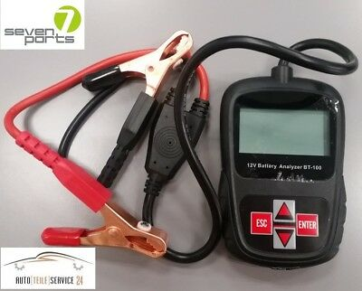 Seven Parts Battery Analyzer 12V Batterietester Batterieprüfer Batterieanalyser