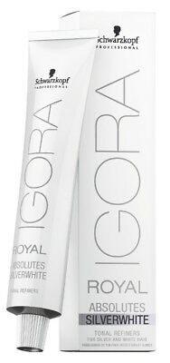 Schwarzkopf Igora Royal Absolutes Silverwhite 60ml Haarfarbe