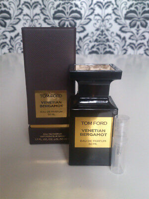 Tom Ford Private Blend Venetian Bergamot EDP - FRESH & NEW PERFUME SAMPLE!!!