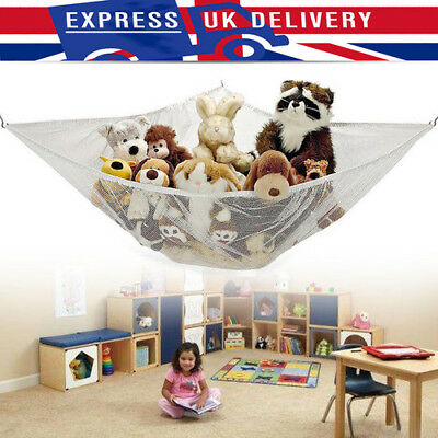 Large Toy Hammock Soft Teddy Mesh hammock Baby Bedroom Tidy Storage Nursery Net