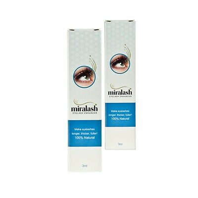2x Miralash Wimper Conditioner MIRALASH langen Wimpern SERUM !
