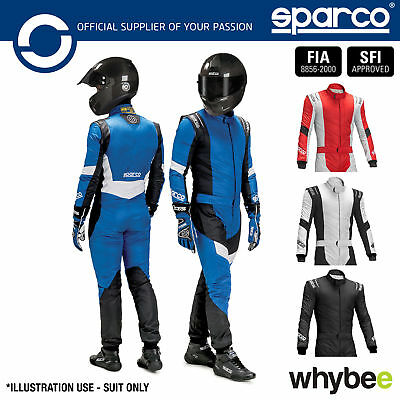 New! 001108 Sparco X-Light RS-7 Race Suit RS7 FIA Approved with X-Cool Treatment