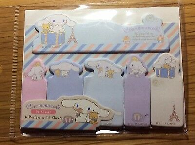 Cute Cinnamoroll Self-Adhesive Sticky Notes Page Markers