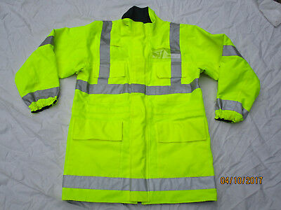 Jacket High Visibility,Reversible Blue/Yellow,Royal Air Force Police,Gr. 180/110