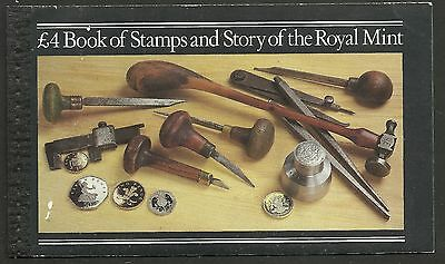 "Great Britain £4 Booklet ""the Story Of The Royal Mail""     Sg Dx4 - 1M"