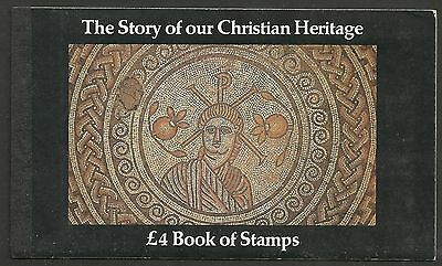 "Great Britain £4 Booklet ""the Story Of Our Christian Heritage""     Sg Dx5 - 1M"