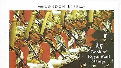 "Great Britain £5 Booklet "" London Life "" Sg Dx11 - 1M"