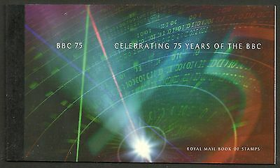 "Great Britain £6.15 Booklet ""celebrating 75 Years Of The Bbc"" Sg Dx19 - 1M"