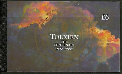"Great Britain £6 Booklet ""birth Centenary Of J.r.r.tolkien"" Sg Dx14 - 1M"