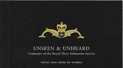 "Great Britain £6.76 Booklet "" Unseen And Unheard "" Sg Dx27"