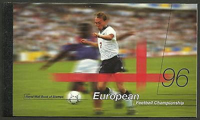 "Great Britain £6.48 Booklet ""european Football Championship"" Sg Dx18 - 1M"