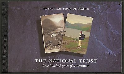 "Great Britain £6 Booklet ""the Story Of The National Trust"" Sg Dx17 - 1M"