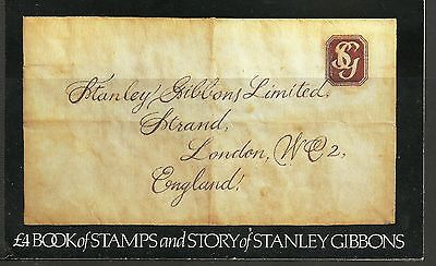"Great Britain £4 Booklet ""the Story Of Stanley Gibbons""    Sg Dx3 - 1M"