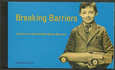 "Great Britain £6.16 Booklet ""breaking Barriers"" Sg Dx21 - 1M"