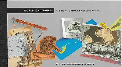 "Great Britain £6.99 Booklet "" World Changers "" Sg Dx23"