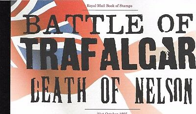 "Great Britain £7.26 Booklet "" Battle Of Trafalgar "" Sg Dx35"
