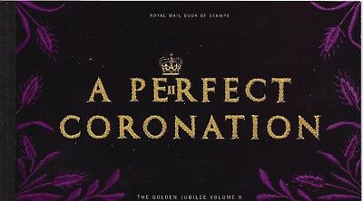 "Great Britain £7.46 Booklet "" A Perfect Coronation "" Sg Dx31"