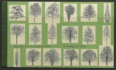 Great Britain £7 Booklet A Treasury Of Trees Sg Dx26 - 1M