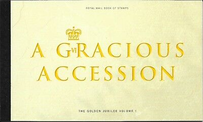 "Great Britain £7.29 Booklet "" A Gracious Accession "" Sg Dx28"