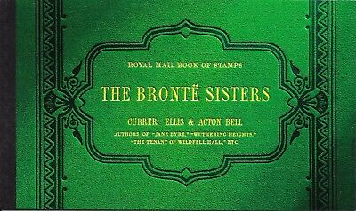 "Great Britain £7.43 Booklet "" The Bronte Sisters "" Sg Dx34"