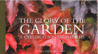 "Great Britain £7.23 Booklet "" The Glory Of The Garden "" Sg Dx33"