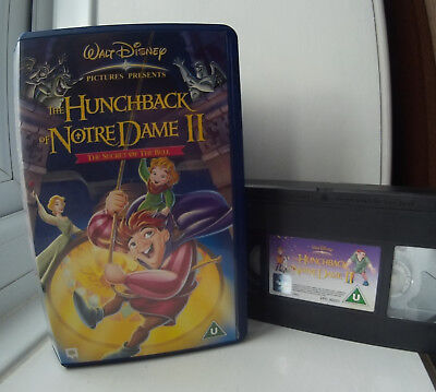 the hunchback of notredame disney vhs video � 163500