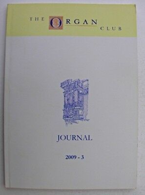 THE ORGAN CLUB JOURNAL October 2009 Postage Stamp Art Stoke-On-Trent St Albans