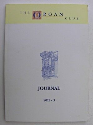 THE ORGAN CLUB JOURNAL Oct 2012 Clermont-Ferrand Cathedral Nordic Rotherhithe