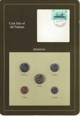 Coin Sets of All Nations - Bermuda