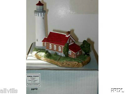 TAWAS POINT  MI  #152 retired Harbour Lights Brand new/box