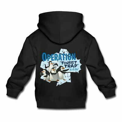 DreamWorks Madagascar Pinguine Operation Tourist Trap Kinder Premium Hoodie von