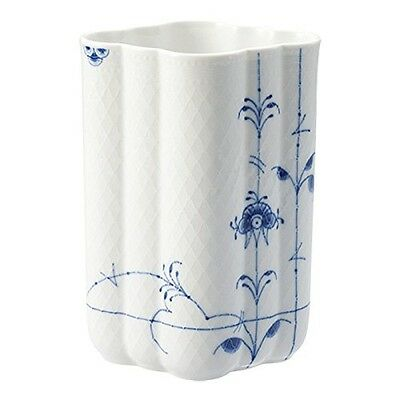 Royal copenhagen Blue Palmette vase of flowers hand-paint Free Shipping Japan
