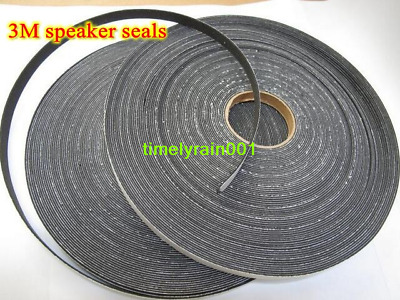 1pcs 1M Speaker pads Sealing ring Gasket For Speaker