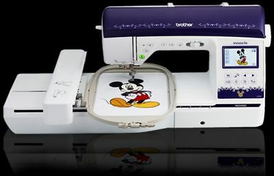 Brother NQ3500D Sewing/Embroidery Machine Floor Model