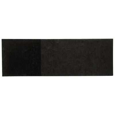 """(2000) BLACK PAPER NAPKIN BANDS RINGS 4 1/4"""" x 1 1/2"""" FOR SILVERWARE"""